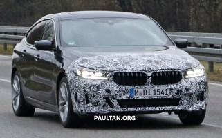 G32 BMW 6 Series Gran Turismo LCI facelift spyshot 2