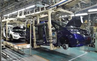 Nissan Kyushu plant assembly