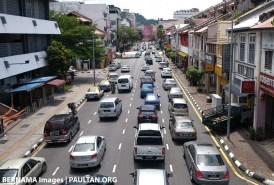 Traffic jam Ipoh CMCO Bernama
