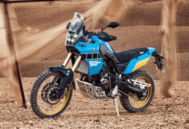 2020 Yamaha Tenere 700 Rally XTZ700SP Action - 1