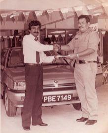 1985 Proton Saga_Ismail Jaafar