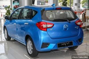 2020 Perodua Myvi 1.3X ASA 2.0 Electric Blue_Ext-2