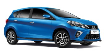 2020 Perodua Myvi Blue 1