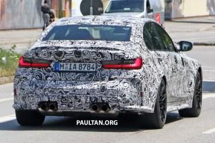 G80 BMW M3 spyshots 11