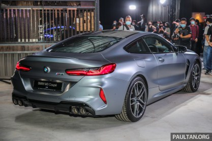 2020 F92 BMW M8 Coupe Malaysia Launch Ext2
