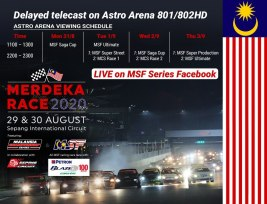 Merdeka Race 2020 Astro Schedule