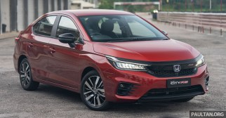 2020 Honda City RS i-MMD Hybrid at MIMC (Exterior)