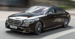 2021 W223 Mercedes-Benz S-Class Plug-in Hybrid Model