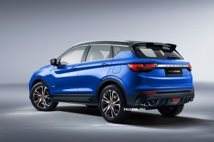 X50 Quarter Rear Right Final Blue