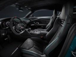 2021 Audi R8 Green Hell Interior