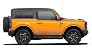 2021 Bronco Two-Door Outer Banks in Cyber Orange