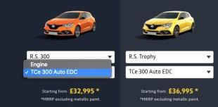 Renault UK Megane RS 300 FL screencap-1