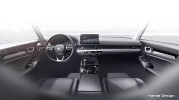 2022 Honda Civic Prototype official reveal-11th-gen-9