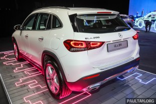 2020 Mercedes GLA 200 Preview Malaysia_Ext-2
