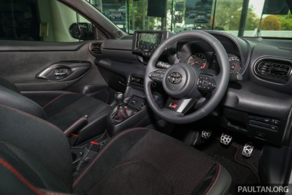 2020 Toyota GR Yaris Malaysia_Int-2