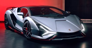 2021 Lamborghini Sian in the UK