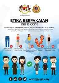 JPJ Dress Code Notice