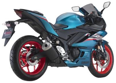 Yamaha R25 2021 Cyan BM-7