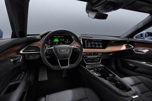 2021 Audi e-tron GT in Kemora Grey Metallic (Studio Shots)