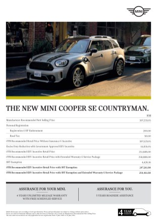THE NEW MINI COOPER SE COUNTRYMAN_PM_Lores