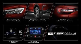 Perodua Ativa D55L features teaser
