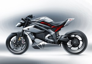2021 Project Triumph TE-1 electric motorcycle - 17