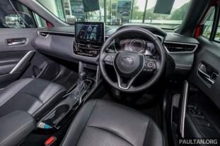 2021 Toyota Corolla Cross 1.8 V Malaysia_Int-54_BM
