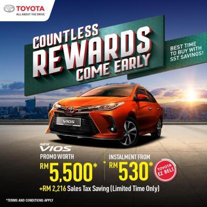 Toyota Raya promo 2021 2