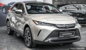 2021_Toyota_Harrier_Preview_Malaysia_Ext-2 BM