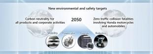 Honda safety commitment 2050-2