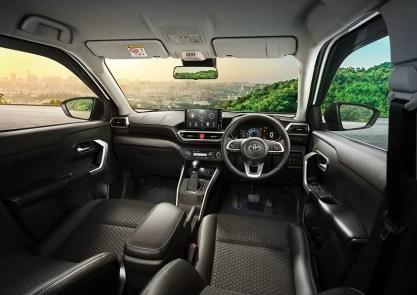 Toyota Raize Indonesia interior