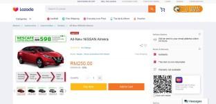 3. All New Nissan Almera in Lazada-BM