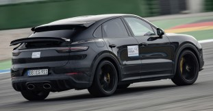 Porsche Cayenne Turbo S Coupe early preview-3
