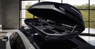 Porsche Tequipment Performance Roof Box  - Porsche Tequipment Performance Roof Box 2 - Porsche Tequipment launches Performance roof box – 480 litres of additional space, stable at up to 200 km/h!
