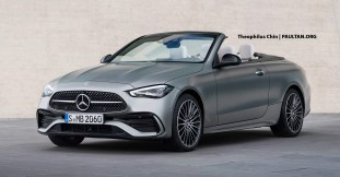 A206 Mercedes-Benz C-Class Cabriolet Rendering by Theophilus Chin (2)