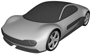 Honda electric sports car patent 1