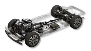 Mazda large petrol engine 48V mild hybrid