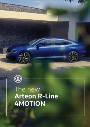 Volkswagen Arteon R-Line 2.0 TSI 4Motion price list 1