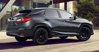2022 Lexus RX 450h Black Line