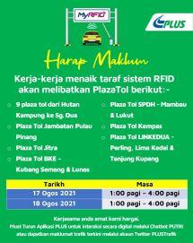 PLUS RFID Maintenance
