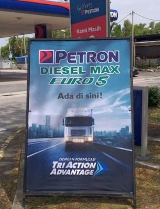 Petron Diesel Max Euro 5 3