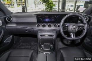 2021 W213 Mercedes-Benz E 300 AMG Line Malaysia_Int-1
