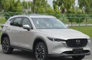 2022 Mazda CX-5 facelift leak (3)