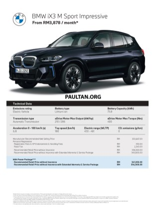 BMW iX3 M Sport Impressive Malaysia brochure 01