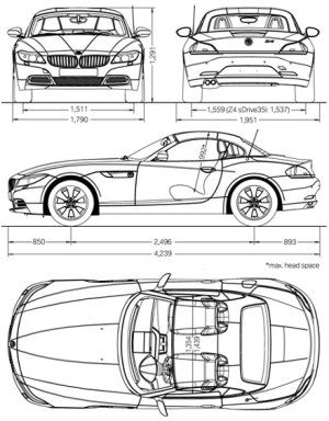 New photos of the new E89 BMW Z4