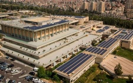 Knesset Solar Times Israel