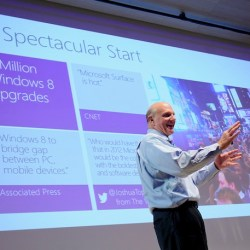 Microsoft CEO Steve Ballmer talks Windows 8