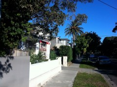 Line of grey mosman mansions