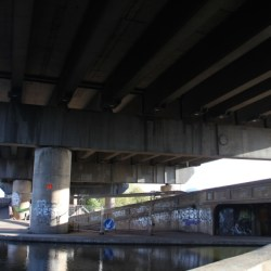 Walking Spaghetti Junction's canals
