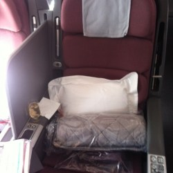 Travel review - Qantas Business Class Sydney to Los Angeles